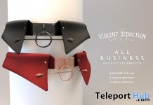 All Business Collar December 2017 Group Gift by Violent Seduction - Teleport Hub - teleporthub.com