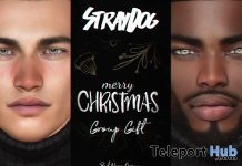 Red Nose & Cold Breath Add-on December 2017 Group Gift by Stray Dog - Teleport Hub - teleporthub.com