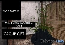 Mid-Century Bamboosa Plant December 2017 Group Gift by NEVADA PARK - Teleport Hub - teleporthub.com