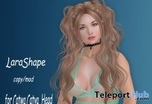 Lara Shape With Style Card December 2017 Group Gift by Cree-moi - Teleport Hub - teleporthub.com