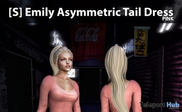 New Release: [S] Emily Asymmetric Tail Dress by [satus Inc] - Teleport Hub - teleporthub.com