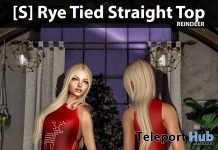 [S] Rye Tied Straight Top Reindeer Group Gift by [satus Inc] - Teleport Hub - teleporthub.com