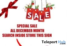 Special December Sale 2017 by Le'La Design - Teleport Hub - teleporthub.com