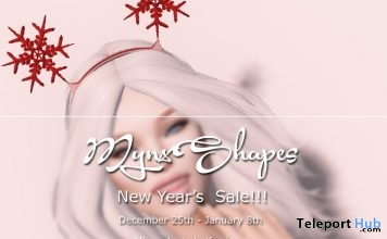 New Year's Sale 100L Promo Body Shapes by MynxShapes - Teleport Hub - teleporthub.com