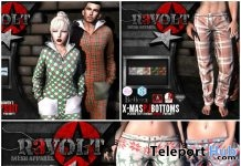 Christmas Jumpsuit & Pants Unisex Christmas 2017 Group Gift by R3VOLT - Teleport Hub - teleporthub.com