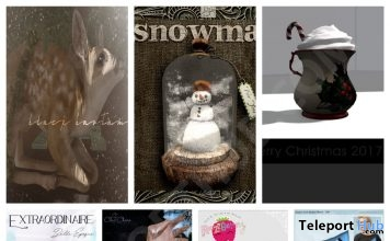 Several Christmas Gifts at The Arcade December 2017 by Various Designers - Teleport Hub - teleporthub.com