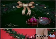 Princess Christmas Heels & Noel Earrings Gift by ChicChica - Teleport Hub - teleporthub.com