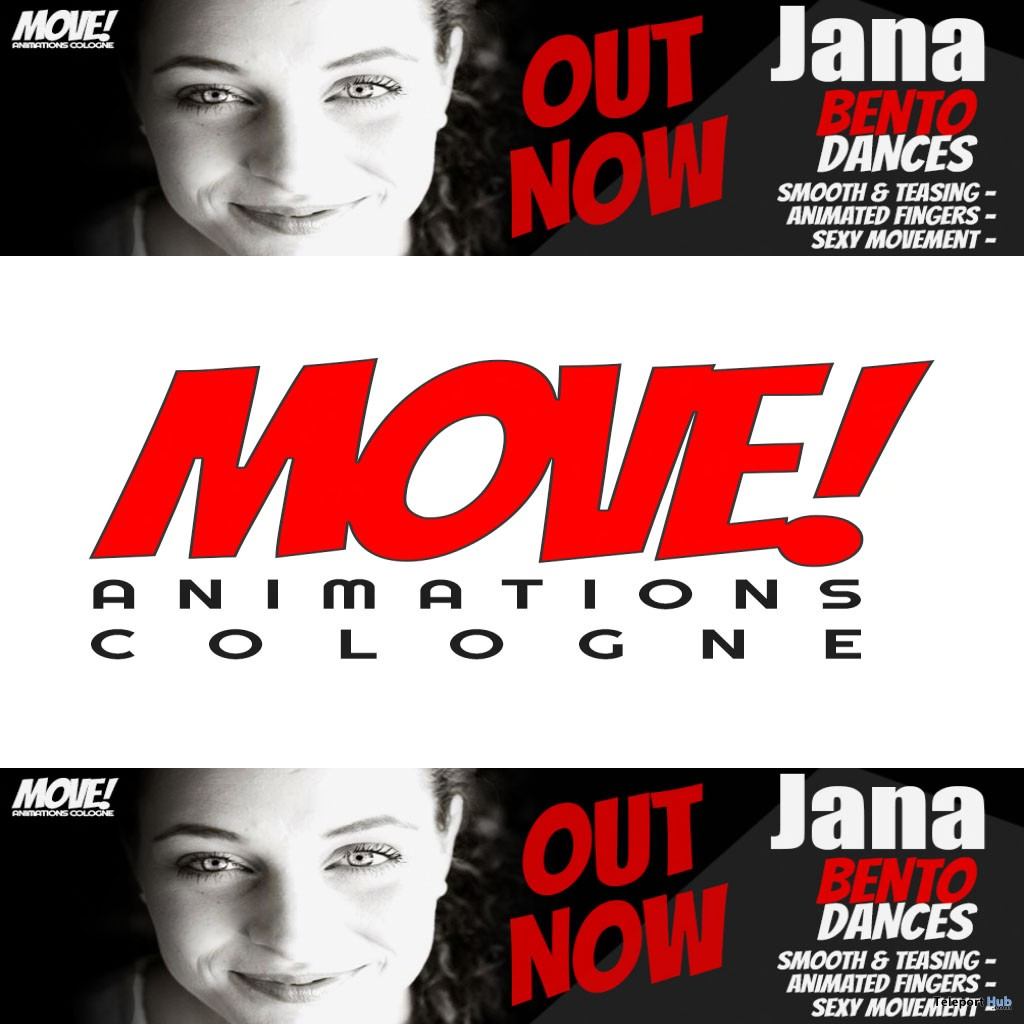 New Release: Jana Bento Dance Pack by MOVE! Animations Cologne - Teleport Hub - teleporthub.com