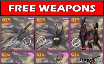 Several Weapons December 2017 Gifts by GTS DESIGN - Teleport Hub - teleporthub.com