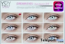 Dream Eyes Omega Applier Shop & Hop Sale December 2017 Gift by YS&YS - Teleport Hub - teleporthub.com