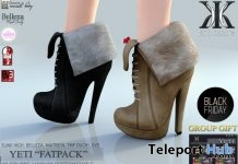 Yeti Boots Fatpack Shop & Hop Sale December 2017 Gift by KC Couture - Teleport Hub - teleporthub.com