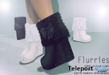 Flurries Boots Shop & Hop Sale December 2017 Gift by Apple May Designs - Teleport Hub - teleporthub.com