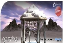 Gezabo With Snow Addon Shop & Hop Sale December 2017 Gift by CONSTRUCT - Teleport Hub - teleporthub.com