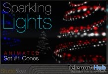 Sparkling Lights #1 Cones Shop & Hop Sale December 2017 Gift by Skye Studio - Teleport Hub - teleporthub.com