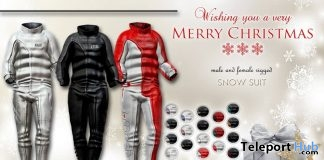 Snow Suit Unisex Fatpack Christmas 2017 Gift by i.mesh - Teleport Hub - teleporthub.com