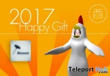 Chicken Avatar Group Gift by Blossom - Teleport Hub - teleporthub.com