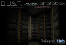 Maze Catacombs Photobox December 2017 Group Gift by D.U.S.T. Store - Teleport Hub - teleporthub.com