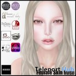 Rose Skin With Mesh Body and Head Appliers Cafe Cinderella Gift by (dot)xxx - Teleport Hub - teleporthub.com