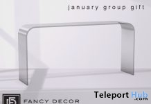 Glass Console Table January 2018 Group Gift by Fancy Decor - Teleport Hub - teleporthub.com