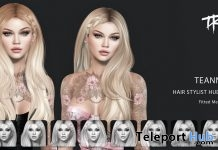 Teanna Hair FatPack With Style HUD January 2018 Group Gift by TRUTH HAIR - Teleport Hub - teleporthub.com
