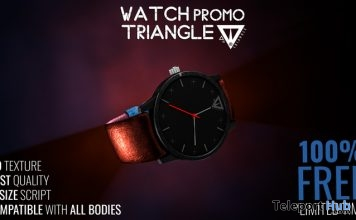Promo Watch Limited Time Free Gift by Triangle - Teleport Hub - teleporthub.com