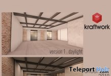 2018 Skyboxes Daylight & Moonlight Versions January 2018 Group Gift by KraftWork - Teleport Hub - teleporthub.com
