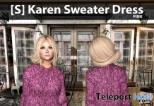 New Release: [S] Karen Sweater Dress by [satus Inc] - Teleport Hub - teleporthub.com