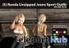 New Release: [S] Ronda Unzipped Jeans Sport Outfit by [satus Inc] - Teleport Hub - teleporthub.com