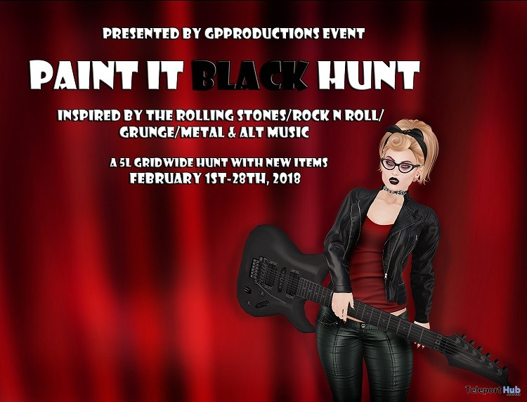 Paint It Black Hunt - Teleport Hub - teleporthub.com