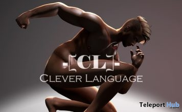 Male Classic Pose 2 Gift by Clever Language Poses - Teleport Hub - teleporthub.com