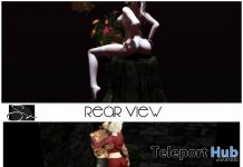 Rear View & Pinned Poses January 2018 Group Gift by Something New - Teleport Hub - teleporthub.com