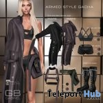 New Release: Armed Style Gacha For Female by GABRIEL @ Shiny Shabby January 2018 - Teleport Hub - teleporthub.com