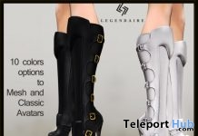 Christina Boots January 2018 Group Gift by Legendaire - Teleport Hub - teleporthub.com