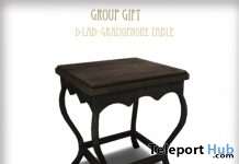 Gramophone Table Group Gift by D-LAB - Teleport Hub - teleporthub.com