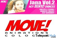 New Release: Jana Vol 2 Bento Dance Pack by MOVE! Animations Cologne - Teleport Hub - teleporthub.com