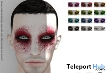 Aelfhare Makeup Pack L'HOMME Magazine February 2018 Group Gift by Zibska - Teleport Hub - teleporthub.com