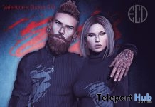 Valentine Couple Unisex Sweater February 2018 Group Gift by E-Clipse Design - Teleport Hub - teleporthub.com