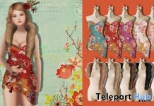 China Cuihua Dress & Faux Fur Stole Fatpack Chinese New Year 2018 Group Gift by Zenith - Teleport Hub - teleporthub.com