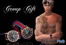 Cellini Watch February 2018 Group Gift by PiCaZZo - Teleport Hub - teleporthub.com