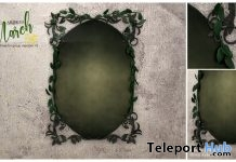 Mirror For Decor March 2018 Group Gift by Ariskea - Teleport Hub - teleporthub.com