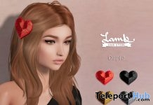 Cupid Hair Fatpack Valentine 2018 Group Gift by Lamb - Teleport Hub - teleporthub.com