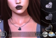 Anti-Valentine Necklace February 2018 Group Gift by TABOU - Teleport Hub - teleporthub.com