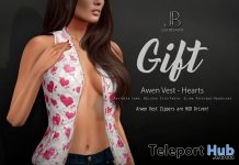 Aven Vest Hearts Valentine 2018 Group Gift by Just Because - Teleport Hub - teleporthub.com