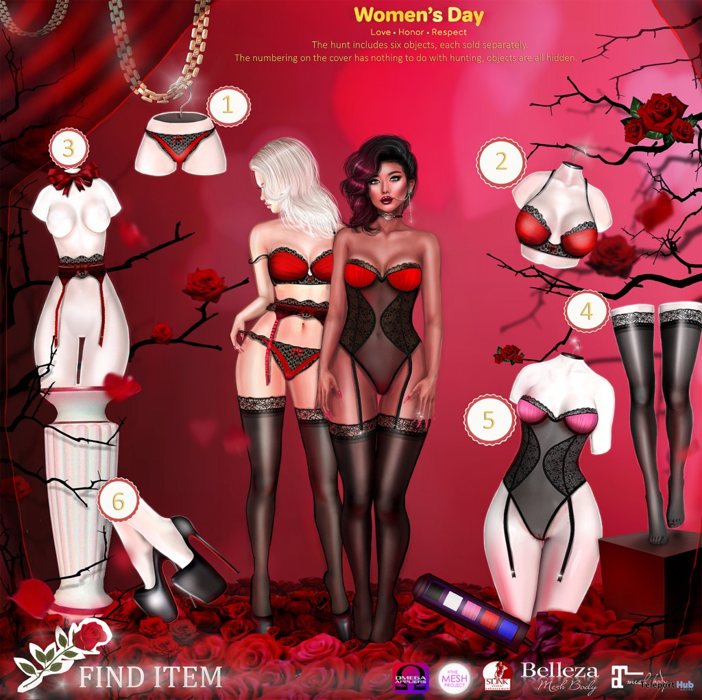 Lisan Women's Day Hunt 2018 - Teleport Hub - teleporthub.com