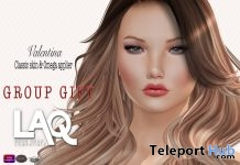 Valentina Tan Classic Skin & Omega Appliers February 2018 Group Gift by WOW Skins - Teleport Hub - teleporthub.com