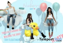 Floatie Collection February 2018 Gift by Blueberry - Teleport Hub - teleporthub.com