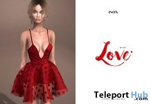 Bella Dress Red Valentine 2018 Gift by ISON - Teleport Hub - teleporthub.com