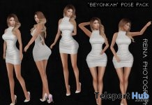 Beyonkah Pose Pack February 2018 Gift by Reina Photography - Teleport Hub - teleporthub.com