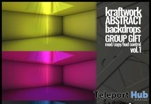 Abstract Backdrops February 2018 Group Gift by KraftWork - Teleport Hub - teleporthub.com