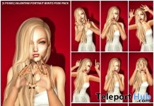 New Release: [S Poses] Valentine Portrait Bento Pose Pack by [satus Inc] - Teleport Hub - teleporthub.com
